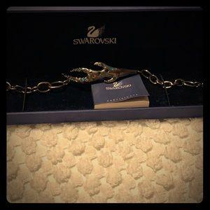 Swarovski gem encrusted antler bracelet